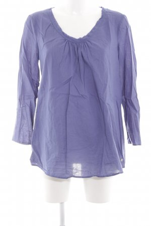 Esprit Slip-over blouse lila casual uitstraling