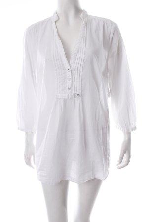Esprit Schlupf-Bluse weiß schlichter Stil