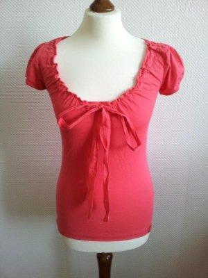 Esprit Carmen shirt veelkleurig Katoen