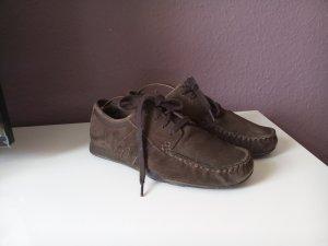 Esprit Schnür Mokassin Schuhe