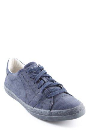 Esprit Schnürschuhe dunkelblau sportlicher Stil