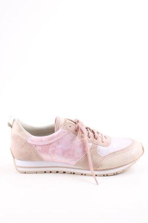 Esprit Schnürsneaker wollweiß-pink Casual-Look
