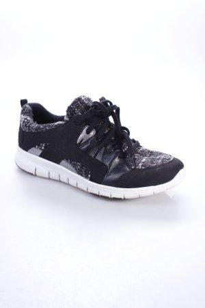 Esprit Schnürsneaker schwarz-weiß sportlicher Stil