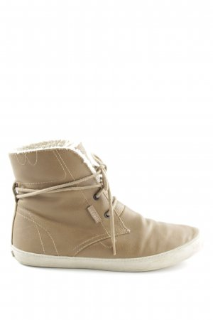 Esprit Lace-up Boots brown-white casual look