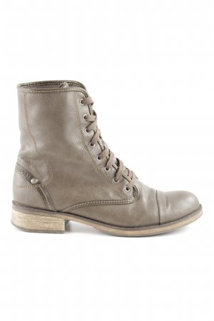 Esprit Lace-up Boots grey brown-light brown casual look