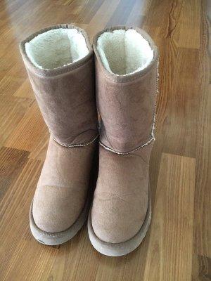 Esprit Low boot brun sable daim