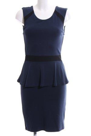Esprit Schößchenkleid blau Elegant