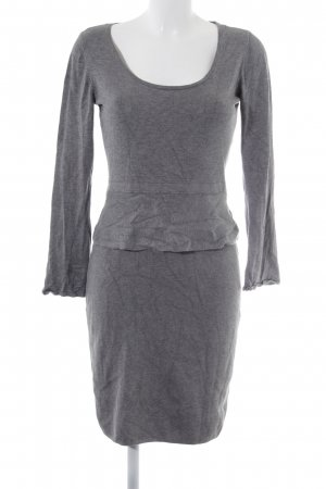 Esprit Peplum Dress grey casual look