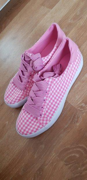 Esprit Zapatilla brogue blanco-rosa