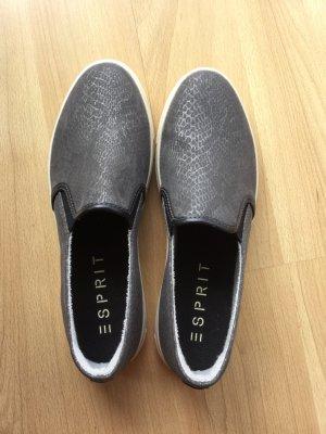ESPRIT Schuhe in metallic grau/silber