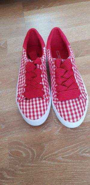 esprit Schuhe neu 38 rot weiß