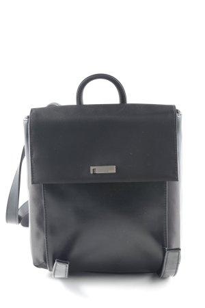 Esprit Zaino per la scuola nero stile casual