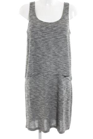 Esprit Off the shoulder jurk lichtgrijs gestippeld casual uitstraling