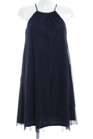 Esprit Off-The-Shoulder Dress dark blue elegant