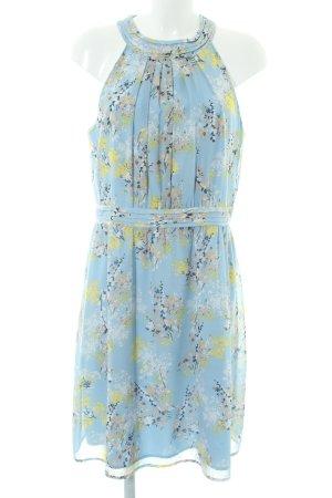 Esprit schulterfreies Kleid mehrfarbig Elegant