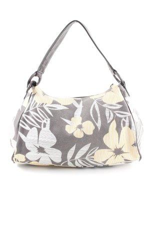 Esprit Schultertasche florales Muster 70ies-Stil