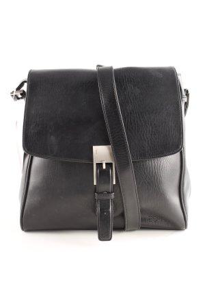 Esprit Schultertasche schwarz klassischer Stil