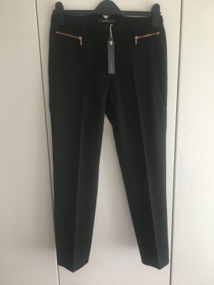 Esprit Pleated Trousers black mixture fibre