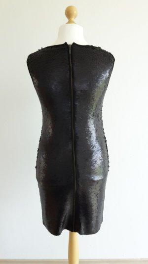 Esprit schwarzes Paillettenkleid