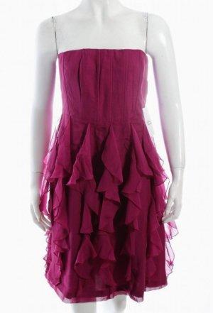 Esprit Vestido corsage rojo frambuesa Seda