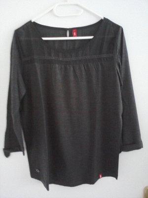 Esprit Shirt 3/4-ärmelig anthrazit
