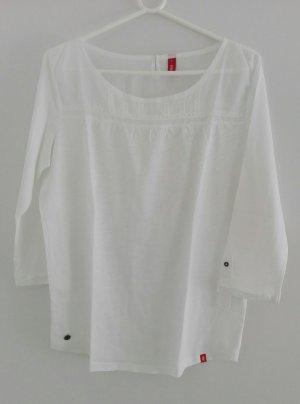 Esprit Shirt 3/4-ärmelig weiß