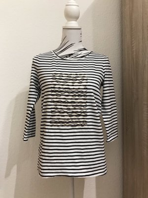 Esprit Camicia lunga bianco-blu scuro