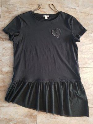 esprit collection T-shirt jurk zwart