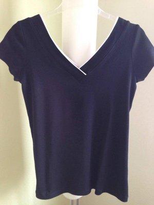 Esprit V-hals shirt zwart