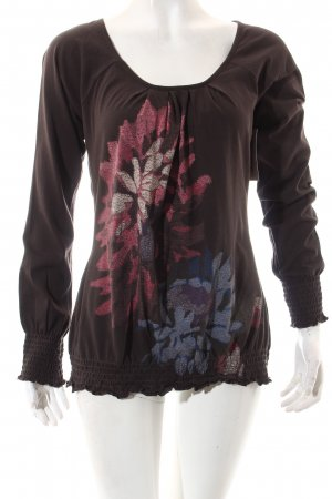 Esprit Shirt dunkelbraun Casual-Look