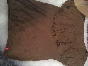 Edc Esprit Shirt brown-cognac-coloured