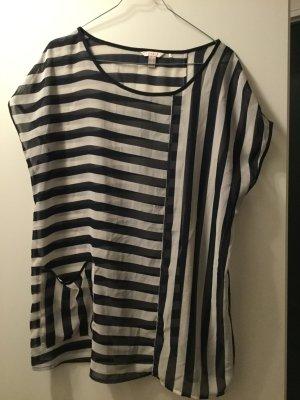 Esprit Gestreept shirt donkerblauw-wit