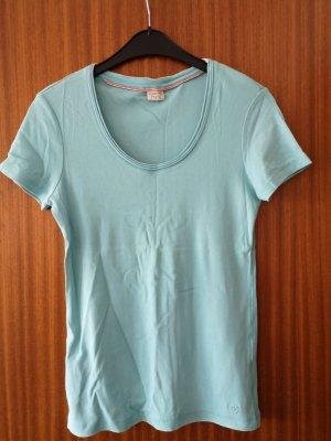 Esprit Shirt Gr L neuwertig Rundhals Ausschnitt