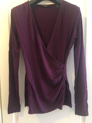 Esprit Wraparound Shirt blackberry-red