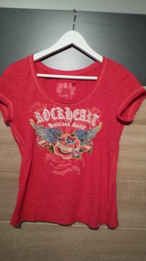 ESPRIT Shirt Koralle/Rot Gr. S