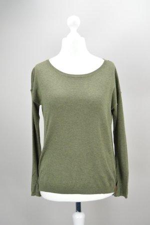 Esprit Shirt langärmlig olivgrün Größe XS