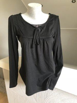 Esprit, Shirt, Longsleeve, schwarz