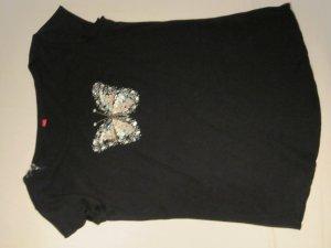 ESPRIT Shirt mit Paillettenverziehrung