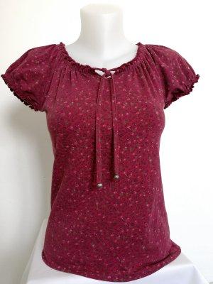 Esprit Camicia fantasia rosso scuro-rosso lampone