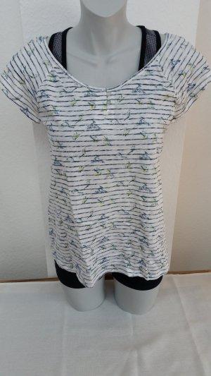 Esprit Shirt mit Vogelprint Print Bird