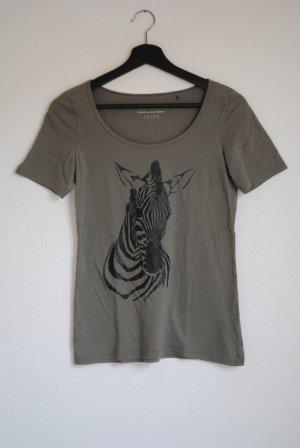 Esprit, Shirt mit Zebraaufdruck, S