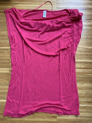 de.corp by Esprit Cowl-Neck Shirt pink