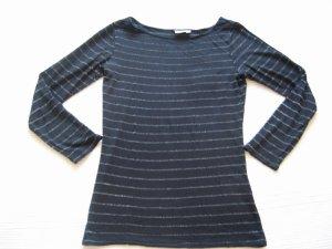 esprit shirt schwarz gr. s 36 streifen
