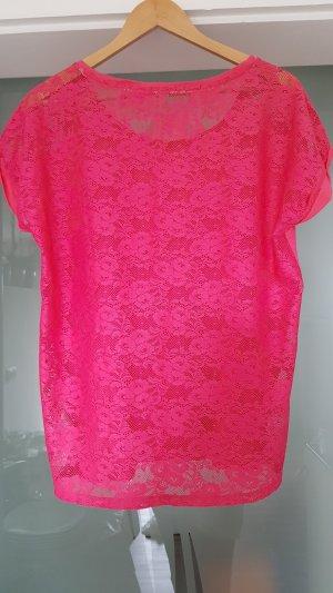 Esprit Shirt Spitze Pink