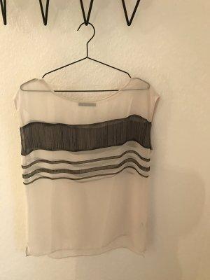 Esprit Shirt transparent schwarz weiß