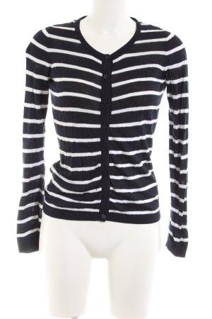 Esprit Shirt Jacket black-white striped pattern casual look