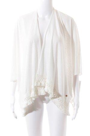 Esprit Veste chemise blanc cassé style Boho