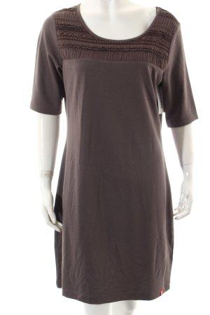 Esprit Shirtkleid graubraun Casual-Look