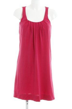 Esprit T-shirt jurk magenta casual uitstraling