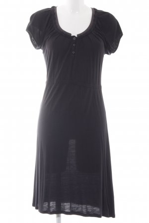 Esprit Shirtkleid schwarz Casual-Look